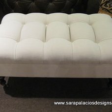 Contemporary Ottomans And Cubes by Sara Palacios Designs and Custom Furniture