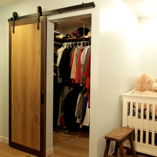 Traditional Closet by Real Sliding Hardware