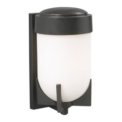 PLC Lighting - PLC 1 Light Outdoor Wall Fixture Firenzi Collection 31758 ORB - -Finish: Oil Rubbed Bronze