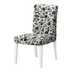 IKEA of Sweden - HENRIKSDAL Chair - Chair, white, Hovby white/black