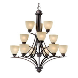 Vaxcel - Avalon 12L Chandelier - Vaxcel products are highly detailed and meticulously finished by some of the best craftsmen in the business.