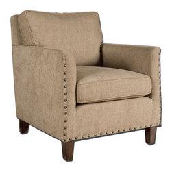 Uttermost - Uttermost 23066 Keturah Arm Chair - Uttermost 23066 Keturah Arm Chair