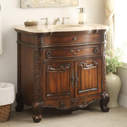 Antique Bathroom Vanities - Any antique bathroom vanities are designed to last for a long time. Subsequently consumers need not worry about them dwindling apart within a short span of time. Conditional on your sense of taste and financial plan, you will find antique vanities to be stunning and easy to clean. People stay in your home will certainly remark on how lovely they are. Bathroom vanities sets will usually come with matching mirrors that have lovely wood designs imprinted into their edgings