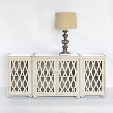 contemporary media storage by Candelabra