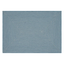 Loloi - Loloi In-Out Collection INOUIO-01AQ003656 Rug - Hand-braided in China of 100-percent polypropylene, the In/Out collection offers a fun and simplistic look. This easy-to-place collection works nicely in an interior space or outdoors, and is available in an array of both neutral and vibrant colors.