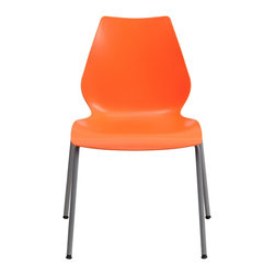Flash Furniture - Flash Furniture Stack Chairs Plastic Stack Chairs X-GG-EGNARO-882-TUR - This multi-purpose stack chair fits in a multitude of environments. This chair will make a great reception, meeting, office, and classroom or break room chair. The deeply curved back provides excellent comfort to your lumbar area. No matter what the function this multi-use chair will bring out the best in your event. [RUT-288-ORANGE-GG]