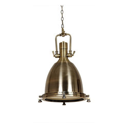 Craft Brass Industrial Lamp