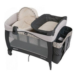 Graco Pack n Play Playard with Newborn Napper Elite Station - Vance
