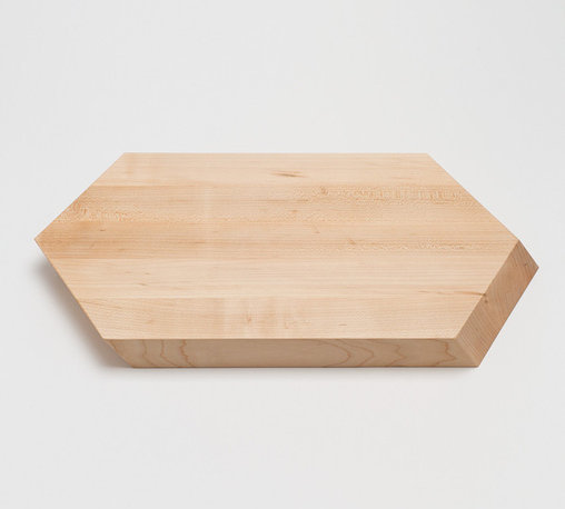 Hex Cutting Board - What isn't to like about this cutting board? I'd be afraid to use it, though. It's so beautiful.