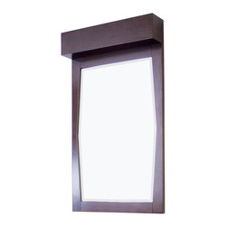 American Imaginations - 23-in. W x 36-in. H Transitional Birch Wood-Veneer Wood Mirror - This transitional wood mirror belongs to the exquisite Metro design series. It features a rectangle shape. This wood mirror is designed to be installed as an wall mount wood mirror. It is constructed with birch wood-veneer. This wood mirror comes with a lacquer-stain finish in Walnut color. Simple and clean rectangle mirror with a sleek raised border constructed with a high quality premium glass with bevelled edges This Wood Mirror features Stainless Steel hardware. No assembly required.