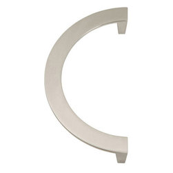"Atlas Homewares - Roundabout 5"" Centers Handle in Brushed Nickel -"
