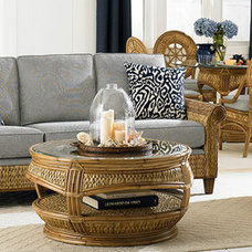 Beach Style Living Room by ROYAL COMPLETE HOME