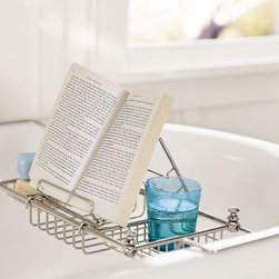 Mercer Bathtub Caddy - Use this caddy for your perfect relaxing bubble bath. Just add a book and glass of wine.