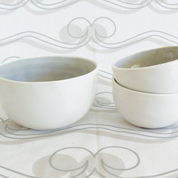 Seagate Cereal & Nut Bowls - At amydutton Home you can find all sorts of home decor accessories! Our Seagate dinnerware set has everything you need for a simple yet elegant dining experience.