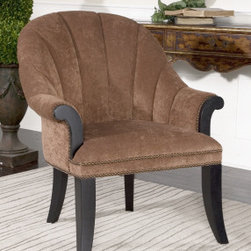 "23083 Tamrika, Armchair by uttermost - Get 10% discount on your first order. Coupon code: ""houzz"". Order today."