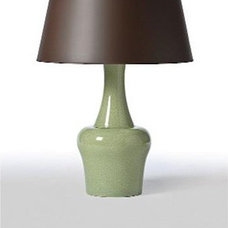 Asian Table Lamps by Candelabra