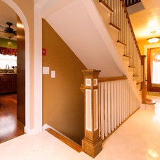 Traditional Staircase by Absolute Green Homes, Inc