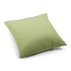 Zuo Modern - Large Pillow in Apple Green - Water resistant polyblend. Warranty: One year limited. Made from foam. No assembly required. 21.3 in. L x 21.3 in. W x 6.7 in. H (3.1 lbs.)