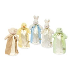 Bunnies By The Bay - Bunnies by the Bay in Bye Bye Buddy - An added safety loop on the back allows this buddy to be hooked on to just about anything, including baby. This plush toy is an adorable addition to any nursery and bound to become your little one's best friend.