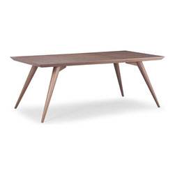 ZUO MODERN - Stockholm Table, Walnut - Stockholm Table Walnut