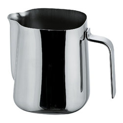 Alessi - Alessi Milk Jug - Whether you're frothing milk for your morning latte or setting out syrup for Sunday morning waffles, this stainless steel jug is the perfect choice. Choose from three sizes to fit your needs or get one of each. There's no shortage of ways to use this in the kitchen.
