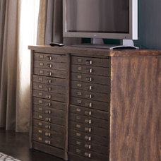 Traditional Media Storage by Horchow