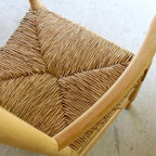 Farm Ladderback Dining Chairs - Made by http://www.ecustomfinishes.com