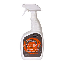 Artisan Marble & Granite - Artisan MAINTAIN Neutral Cleaner (32oz) - The perfect PH balanced cleaner that can be used daily on marble, granite, limestone, travertine and other natural stone surfaces!