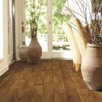 Charter Tawny Oak vinyl sheet flooring from Shaw -