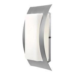 Access Lighting - Access Lighting 20449-SAT/OPL Wet Location Wall Fixture - Access Lighting 20449-SAT/OPL Eclipse Wet Location Wall Fixture