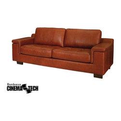 CinemaTech, Inc. - Bordeaux Club Chair and Sofa -