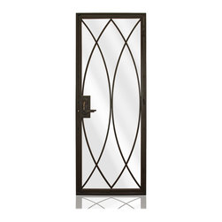 "Iron Collection | 2823 - Iron, Hinges: 3.- Special Hinges 0.75"" x 2.625"",  Exterior Door"