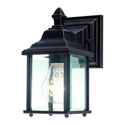Dolan Designs - Dolan Designs 930-20 Charleston Antique Bronze Outdoor Wall Sconce - Dolan Designs 930-20 Bronze Outdoor Lighting