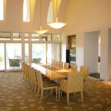 Contemporary Dining Room by InterDesign Studio