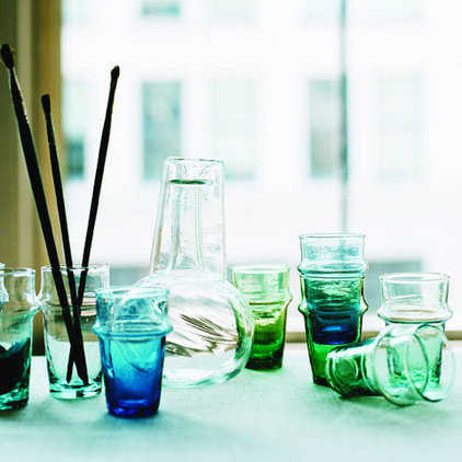 eclectic glassware by canvas