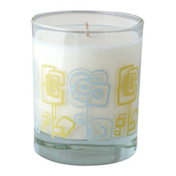 Crash - Happiblooms Fragranced With A Blend Of Garden Blossoms Candle - Modern design and fragrance in a timeless product. Experience functional art in your home, exclusively from Crash. This candle is fragranced with a blend of Garden Blossoms.