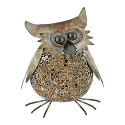 Rustic Farmhouse: Owl Cork Holder - Preserve your memories of great wine by saving your corks in the Owl Cork Holder. This lovable item holds 115 corks.