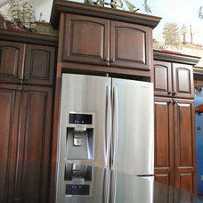 Eclectic Kitchen Cabinets by Home Interior Solutions of Northwest Florida