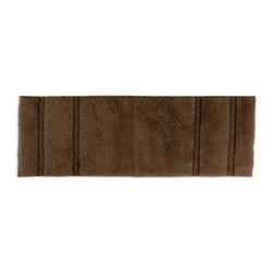 Princess 22 x 60 in. Bath Rug - Your bathroom will be fit for any visiting dignitaries when you have the Princess 22 x 60 in. Bath Rug. This super soft bath rug is available in a variety of gorgeous colors, perfect for any bathroom. The colorfast design and ultra durable construction will keep your bath beautiful for years.About Garland SalesEstablished in 1974, Garland Sales, Inc. has grown as a leading manufacturer and supplier of a wide range of fashionable, tufted area rugs and decorator bath rugs. Operating in the heart of the carpet manufacturing industry in Dalton, GA, Garland Sales, Inc. continues to expand its product line through innovative product development and milestone merchandising techniques. Offered in a wide array of yarns, patterns, colors, weights, and backings, their products are sought after throughout the country. The colorfast designs, quality construction, and lasting beauty of a Garland Sales rug is a look and feel you'll love in your bathroom for years.