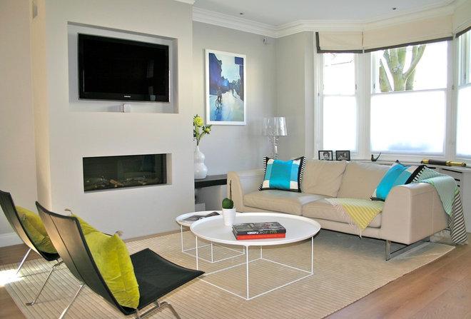 Contemporary Living Room by Into interior design