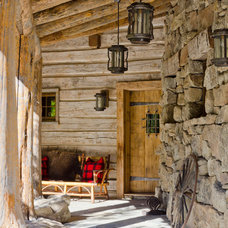 Rustic Entry by Pearson Design Group