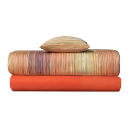 Missoni Home - Missoni Home | Jill Orange Flat Sheet - Design by Rosita Missoni.