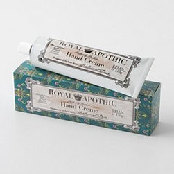 Royal Apothic - Royal Apothic Hand Creme - Key ingredients: water, safflower seed oil, glycerin, fragrance4 fl ozHandcrafted in USA