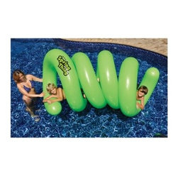 Swimline Spring Thing Inflatable Pool Toy - Make pooltime more fun with the Swimline Spring Thing Inflatable Pool Toy. Ensure your kids have tons of fun crawling in and out of this twisty, floating tunnel.Made of heavy gauge vinyl and measures 52 inches long.About SplashNet XpressSplashNet Xpress is dedicated to providing consumers with safe, high-quality pool products delivered in a fast and friendly manner. While it's adding new product lines all the time, SplashNet Xpress already handles pool maintenance items, toys and games, cleaning and maintenance devices, solar products, and aboveground pools.