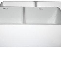 Whitehaus - Whitehaus Whflpln3318-White Reversible Sink - Reversible