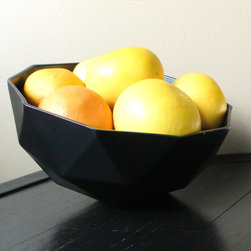 Geo Planter - Diamond-like shapes are hot right now, and I love this Geo planter. Put it on a shelf or table, use it as a fruit bowl or hang it from a cord.