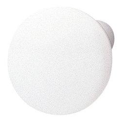 Hafele - Hafele 138.93.706 White Cabinet Knobs - Hafele item number 138.93.706 is a beautifully finished White Cabinet Knob.