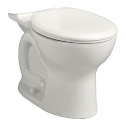 """American Standard - American Standard 3517.D101.020 Round Front Bowl,  White - American Standard 3517.D101.020 Round Front Bowl,  White. This round-front bowl features an 18-1/8"""" height, and comes with 2 bolt caps."""