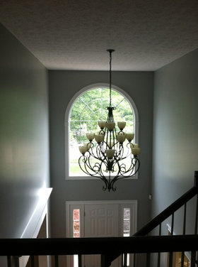 2 story foyer lighting for 2 story foyer chandelier
