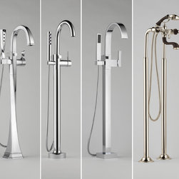 BRIZO - Tub Fillers (Freestanding) - This product is now available at Gerhards. See a store near you for details.
